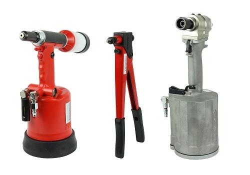 Rivet installation tools, nut insert tools